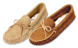 Minnetonka Moccasin Men's Leather Laced Softsole
