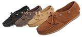 Minnetonka Moccasin Women's Suede Fringed Mocc