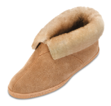 Minnetonka Moccasin Women's Golden Tan Sheepskin Ankle Boot