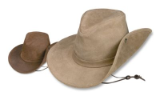 Minnetonka Moccasin Leather Aussie Hat
