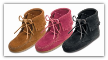 Minnetonka Moccasin Children's Ankle Hi Suede Tramper Boot