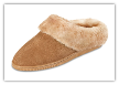 Minnetonka Moccasin Women's Golden Tan Sheepskin Mule Slippers