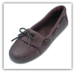Minnetonka Moccasin Women's Chocolate Moosehide Driving Moccasin