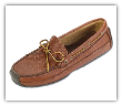 Minnetonka Moccasin Men's Carmel Moosehide Weekend Mocc
