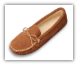 Minnetonka Moccasin Men's Traditional Pile Lined Softsole Slipper