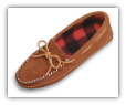 Minnetonka Moccasin Men's Double Bottom Fleece Slipper