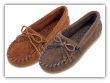 Minnetonka Moccasin Children's Kilty Suede  Mocc