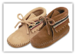 Minnetonka Moccasin Infants Braid Bootie