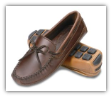 Minnetonka Moccasin Men's Double Bottom Cowhide Driving Moc