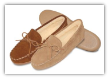 Minnetonka Moccasin Men's Pile Lined Hardsole Slipper