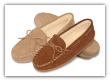 Minnetonka Moccasin Women's Pile Lined Hardsole Slipper